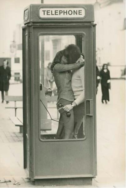 Telephone booth, c. 1970 Goksin Sipahioglu